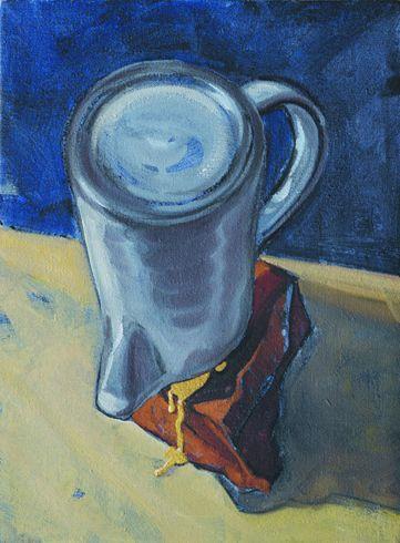 """""""No more"""" 2009, olio su tela, cm 24 x 18"""