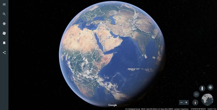 Getting Started With Google Earth - National Geographic Society
