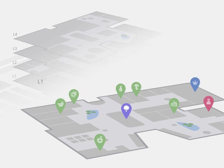 Interactive 3D Mall Map Coding 3D Code CSS CSS3 HTML HTML5 Interactive Javascript Map Resource Web Design Web Development