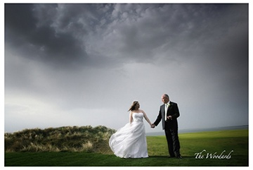 West Coast of Ireland at it's best. Wind and dark moody clouds, creating the perfect backdrop to for any Bride & Groom.  Planner - Michelle @Dream Irish Wedding & Mc Events