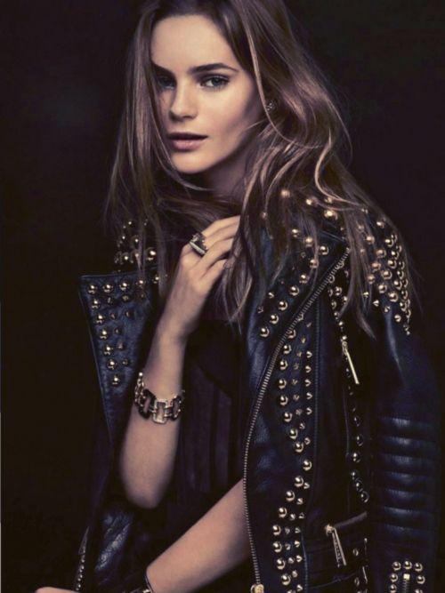 beautiful leather jacket and beautiful image