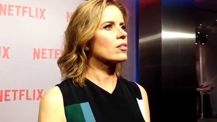 The sophisticated Kim Dickens
