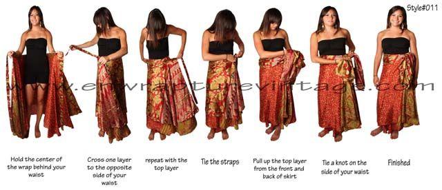 100 ways to wear a wrap dress instructions