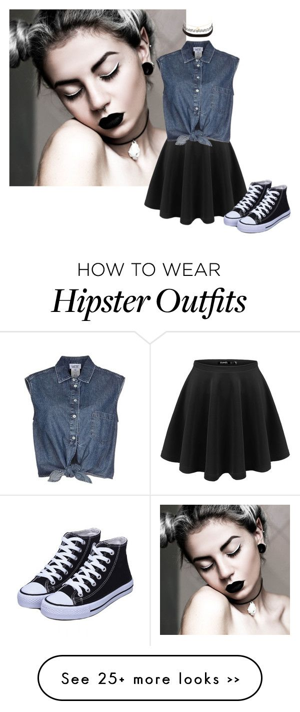 """Daily look (hipster-ish look)"" by bree-and-fashion on Polyvore featuring Jean-Paul Gaultier and Charlotte Russe"