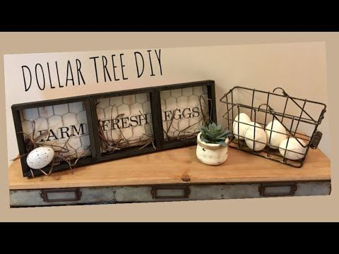 DOLLAR TREE DIY HOBBY LOBBY DUPE!!! – YouTube