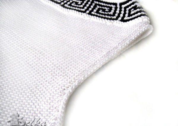 """Обработка пройм способом """"шнурок"""" / Вязание / Своими руками - выкройки, переделка одежды, декор интерьера своими руками - от ВТОРАЯ УЛИЦА"""