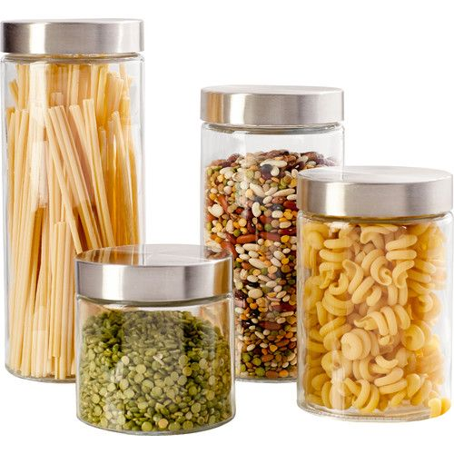 4 Piece Carlin Canister Set