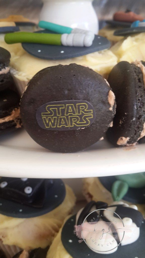 Star Wars Party Black Maracrons