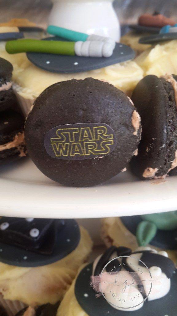 Star Wars Party Black Maracrons