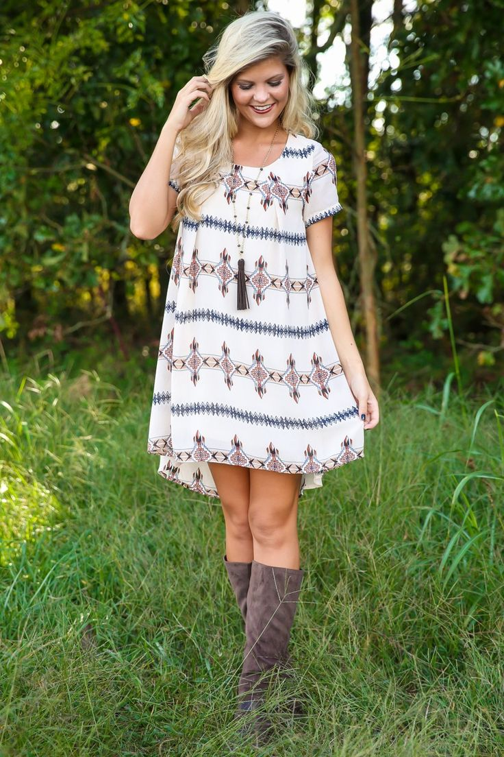 In Good Spirits Dress-Ivory - All Dresses | The Red Dress Boutique