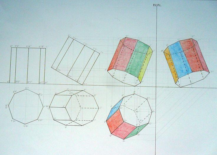 17 migliori immagini su proiezioni ortogonali su pinterest for Piani di ponte ottagonale