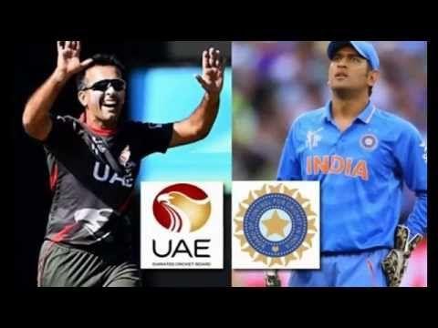 India vs UAE Cricket Match : Live Scoreboad : ICC World Cup 2015