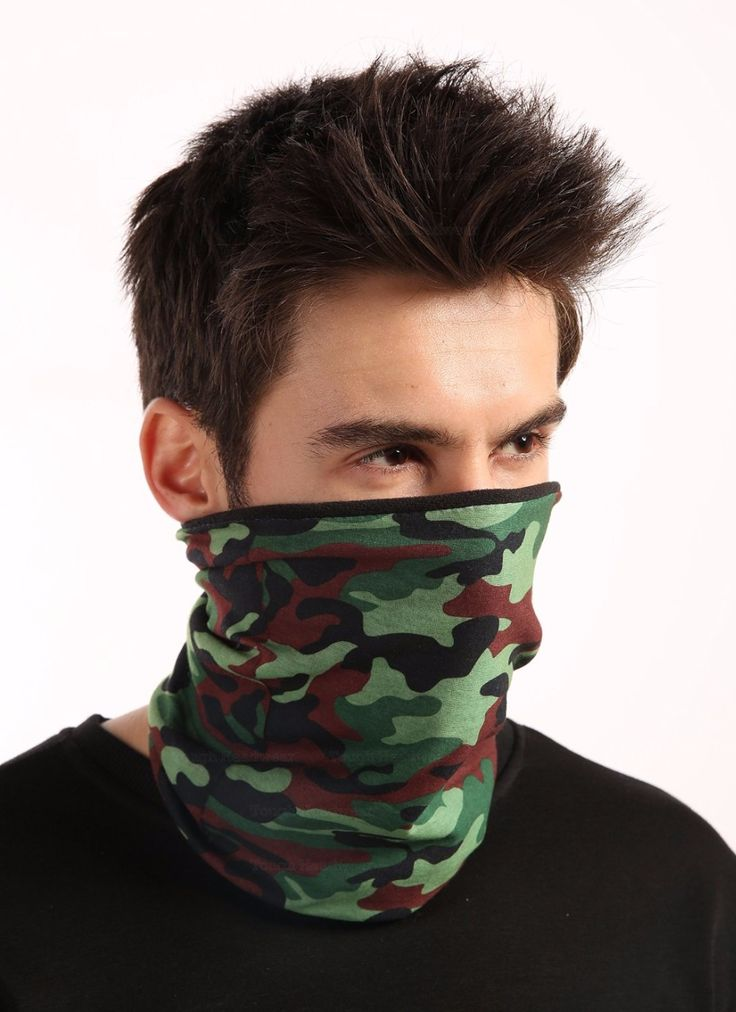 21 Style camouflage Polyester Scarves Outdoor Sports Bandanas Camping Headwear Hiking  Washouts Hunting Headwear Magic Scarves