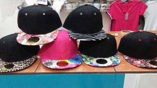 Gorras con nuevos diseños
