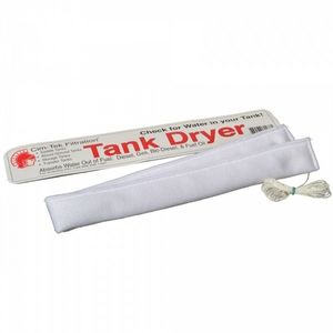Fuel Tank Water Absorber. Contains highly absorbent silica gel which when lowered into the tank absorbs up to 350ml of water at the bottom of fuel tank.