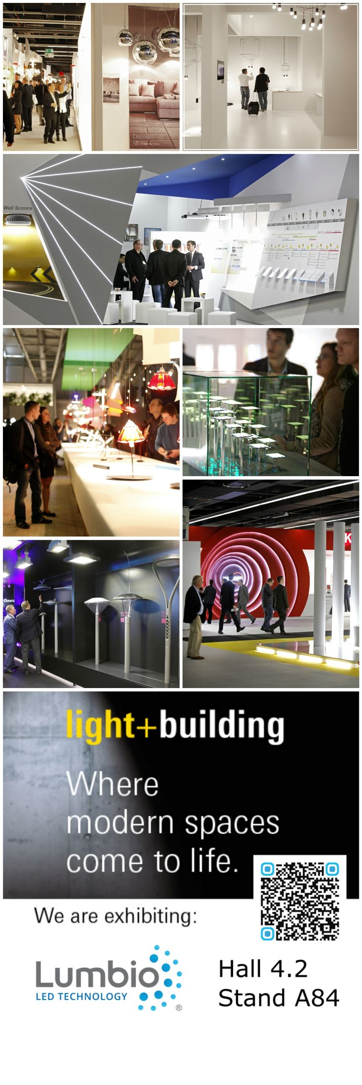 See light+building photos and great atmosphere from last years. Come to see Lumbio in 2016 (13-18.3.)!