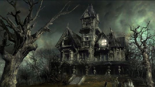 Beispielhaftes Geisterhaus II