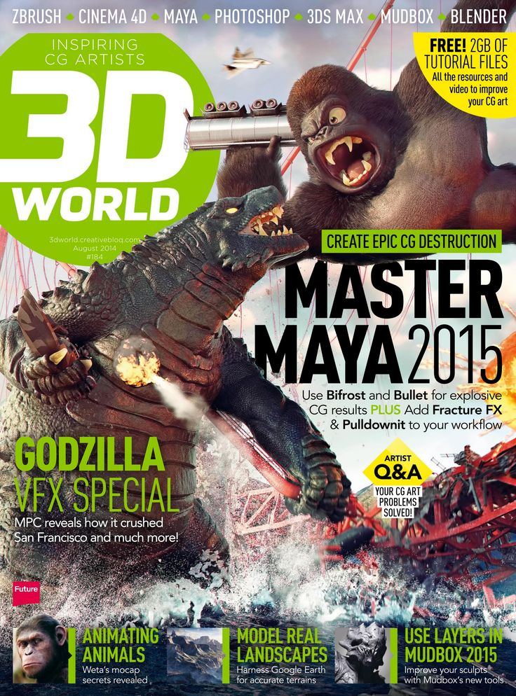Great  D World Magazine Master Maya Use Bifrost and