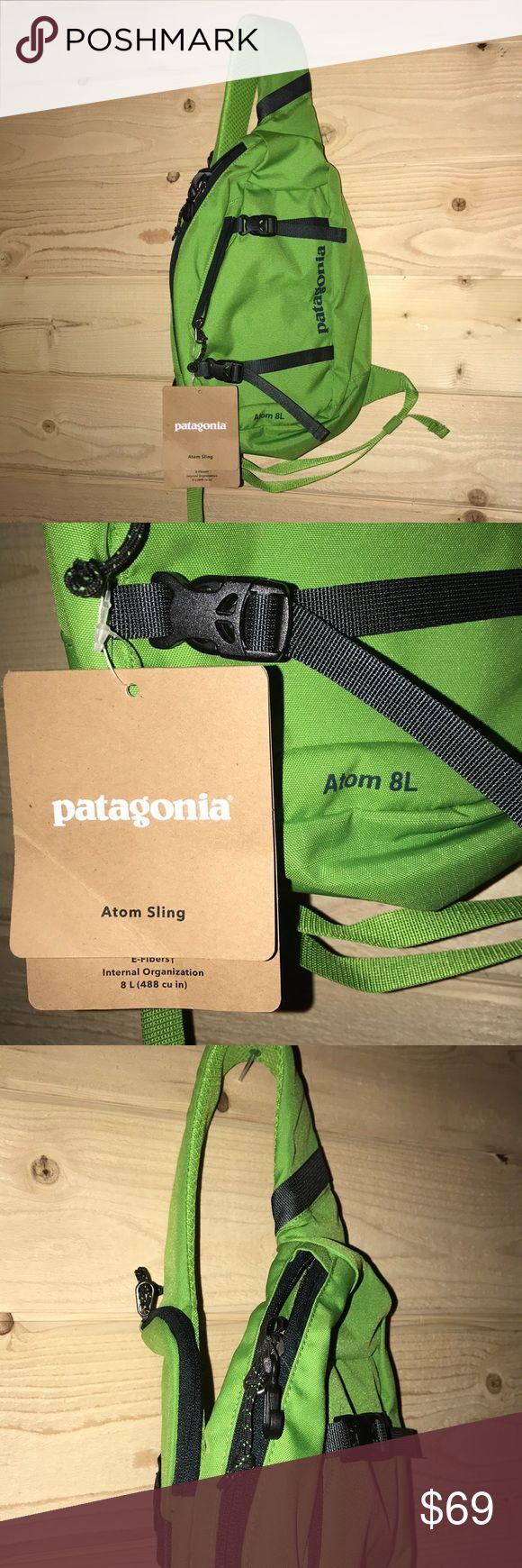 NWT Patagonia Atom 8L Sling Bag Hydro Green NWT Patagonia Bags