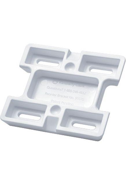 Support en H auto-adhésif pour distributeur de savon