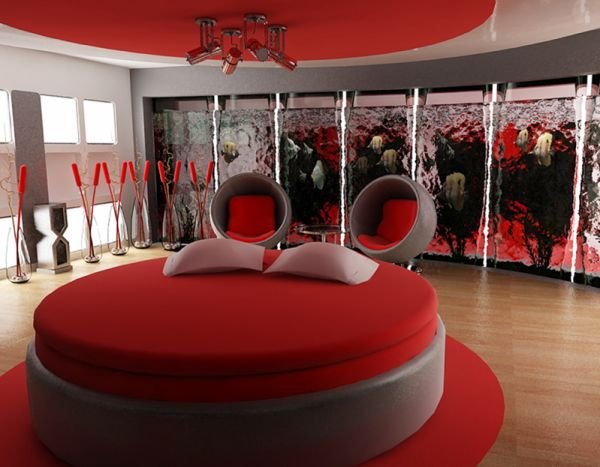 Bedroom Designs Red