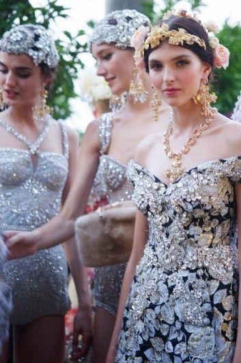 Dolce & Gabbana Alta Moda - Zien: de mooiste beelden van Dolce & Gabbana's Alta Moda - Nieuws - Fashion