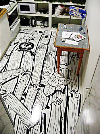 Painted Floor Designs 86 best painted floors images on pinterest | floor design, painted