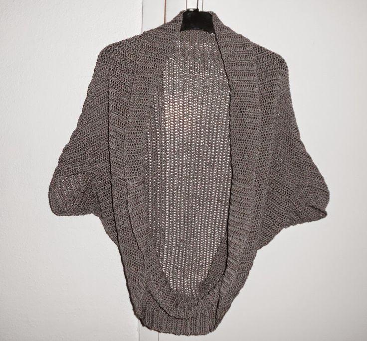 Modische Jacke. Anleitung für Anfänger. Cardigan Crochet pattern for beginners