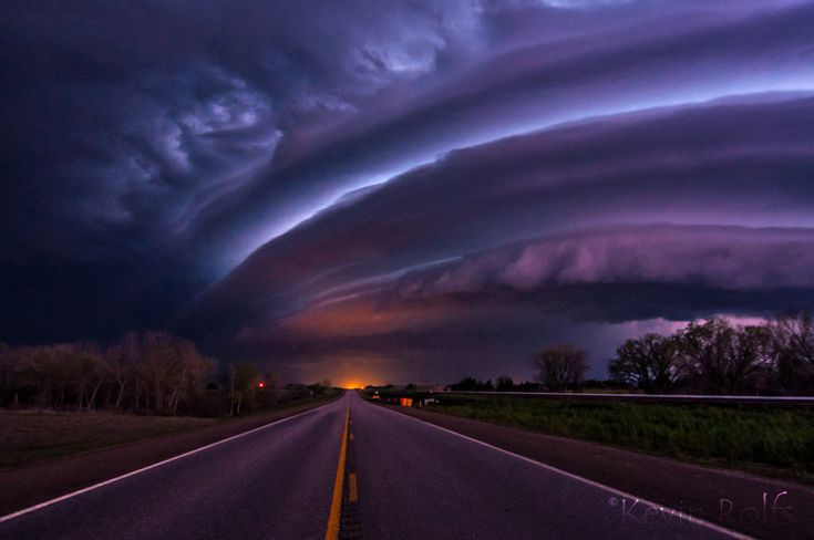 Supercell Shelf Cloud | Creative Commons Attribution ...