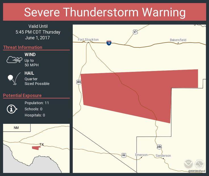 Got pictures? Use #jasonislive NWSSevereTstorm Severe Thunderstorm Warning including Pecos County, TX until 5:45 P… pic.twitter.com/zQK3fZ9dgE - https://blog.clairepeetz.com/got-pictures-use-jasonislive-nwsseveretstorm-severe-thunderstorm-warning-including-pecos-county-tx-until-545-p-pic-twitter-comzqk3fz9dge/