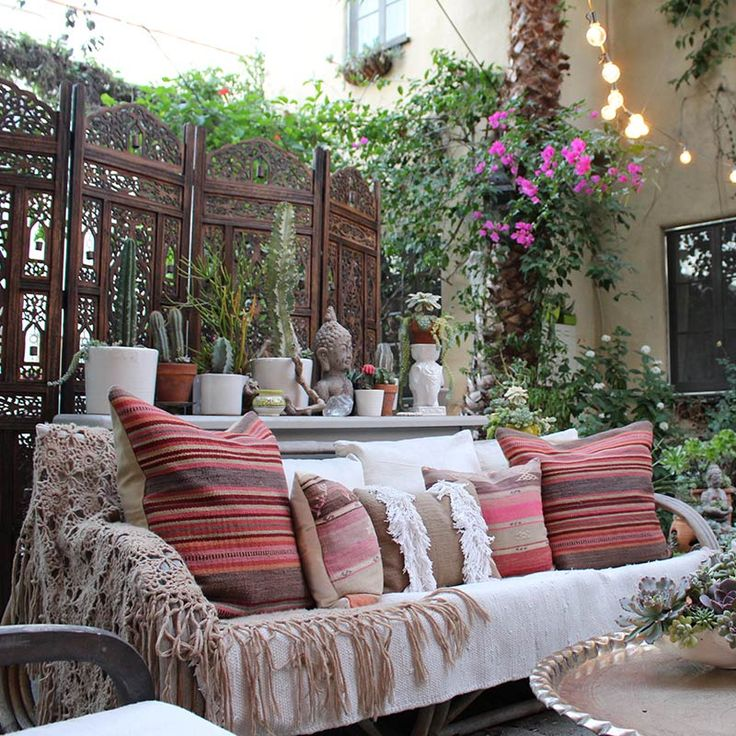 716 Best Images About Bohemian Gardens & Patios On