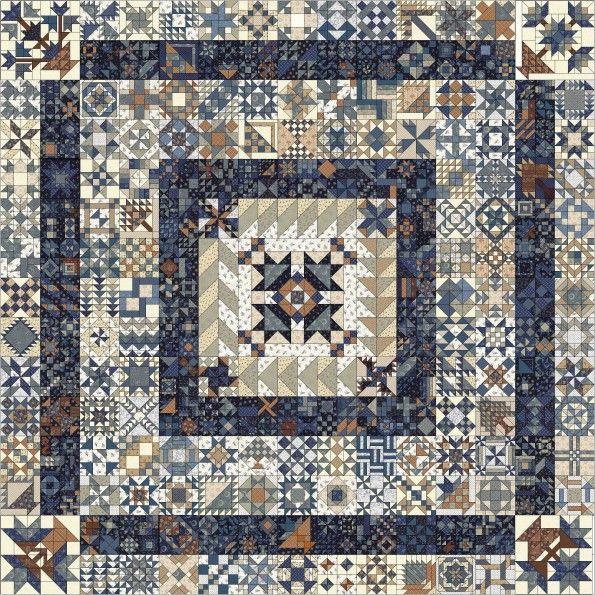 Een nieuwe rage, een nieuwe hype!   Vanaf 1 januari 2016 komen er gratis patronen beschikbaar van deze mooie Australische Quilt.   Een...