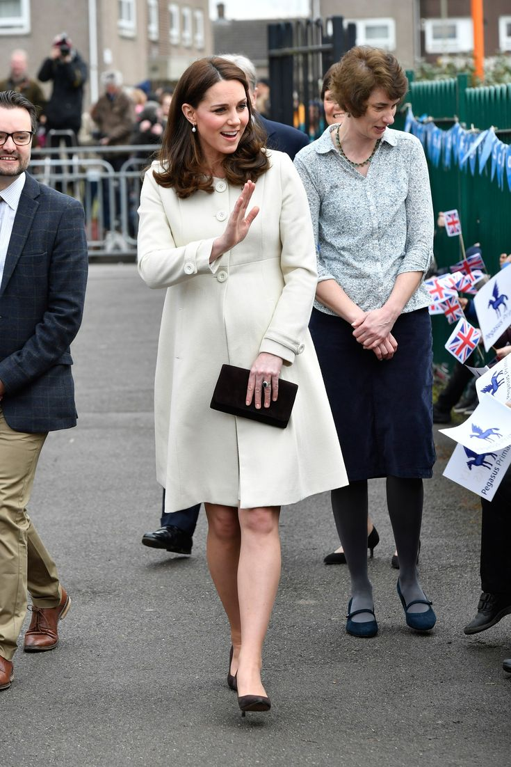 Kate Middleton's Maternity Coat Is the Perfect Pre-Spring Piece