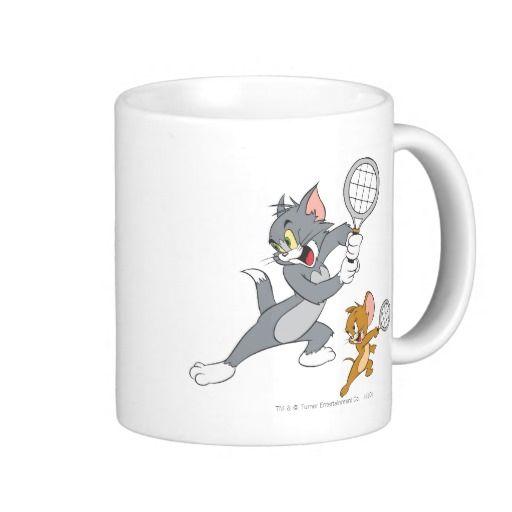 Estrellas de tenis de Tom y Jerry 1. Regalos, Gifts. #taza #mug