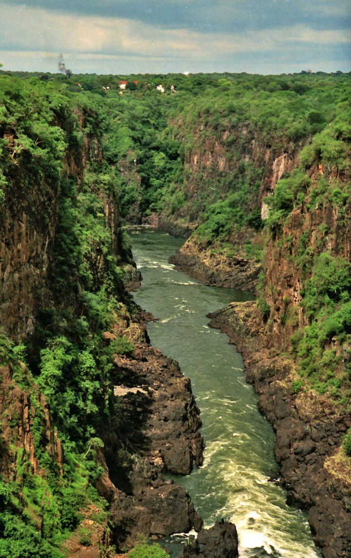 Zambezi River ~ Zimbabwe - Well my whole family lives here so this one is kinda obvious!