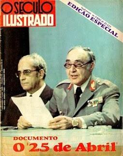 O general Spínola e a leitura do documento da revolução
