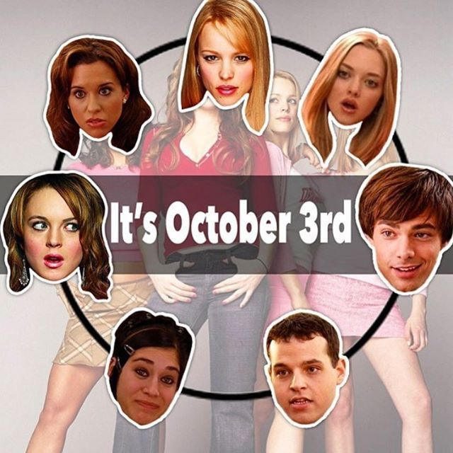 Lindsay Lohan Honors 'Mean Girls' Day on Oct. 3