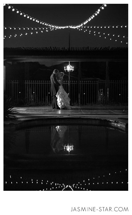 Elegant Backyard Wedding : Michelle + Will