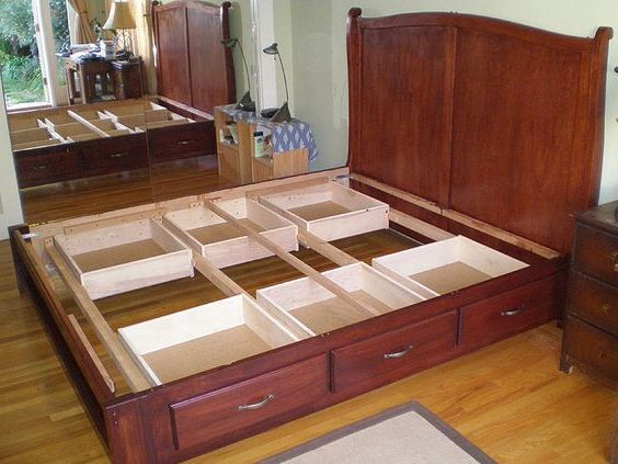 Bedroom:How To Build A King Size Bed Frame How To Build A King Size Bed Frame With Storage DIY King Beds And Storage Under