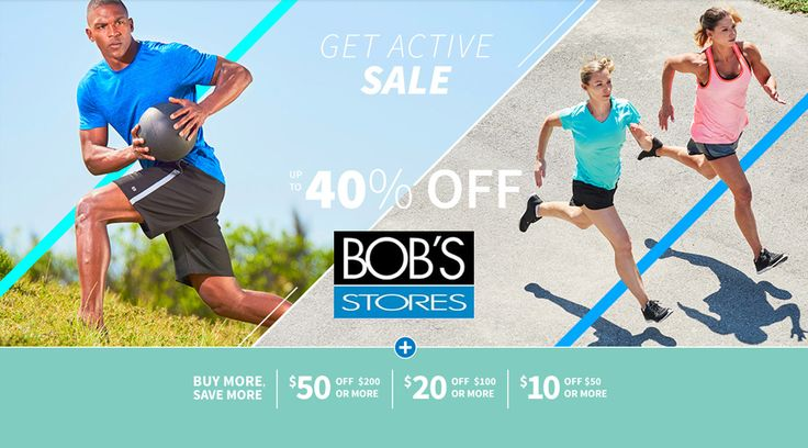 In-Store & Online: $50 #off $200 or more , $20 #off $100 or more , $10 #off $50 or more.  Store : #BobsStores Scope: Entire Store   Ends On : 04/30/2017  Get more deals: http://www.geoqpons.com/Bob's-Stores-printable-coupons  Get our Android mobile App: https://play.google.com/store/apps/details?id=com.mm.views    Get our iOS mobile App: https://itunes.apple.com/us/app/geoqpons-local-coupons-discounts/id397729759?mt=8