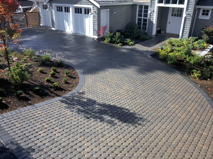 Uni Eco Stone Permeable Paver Driveway A Low Cost Permeable Option With A Co
