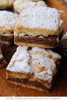 Biscotti bicolore alle mandorle ricetta facile e veloce vickyart arte in cucina