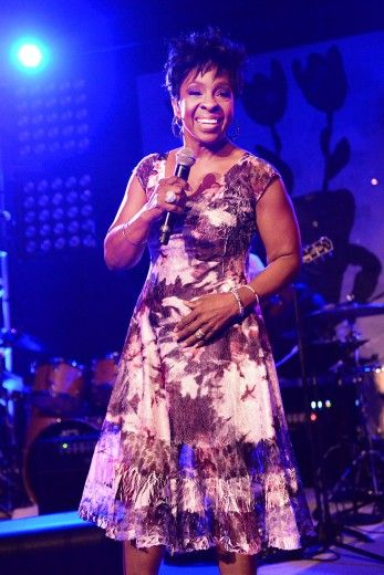 Gladys Knight Gladys Knight performs onstage at Apollo in the Hamptons at The Creeks in East Hampton, New York.