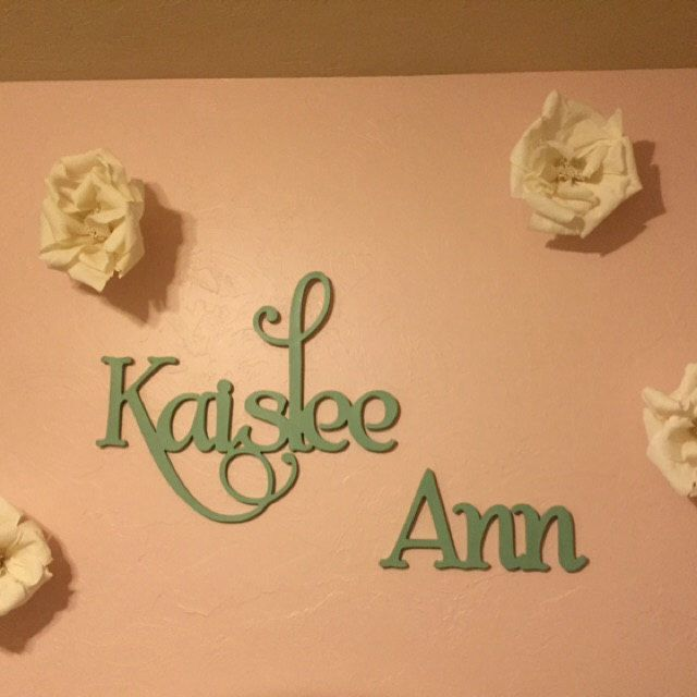 Custom Nursery wall Decor, Wooden name sign, Custom Children's Wall Names, Personalised Signs and Letters. Kids wall decor names, Large Name by ACharmedNest on Etsy https://www.etsy.com/listing/244077189/custom-nursery-wall-decor-wooden-name