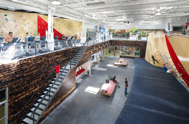 Galeria de Centro Colaborativo Brooklyn Boulders / Arrowstreet + Chris Ryan - 5