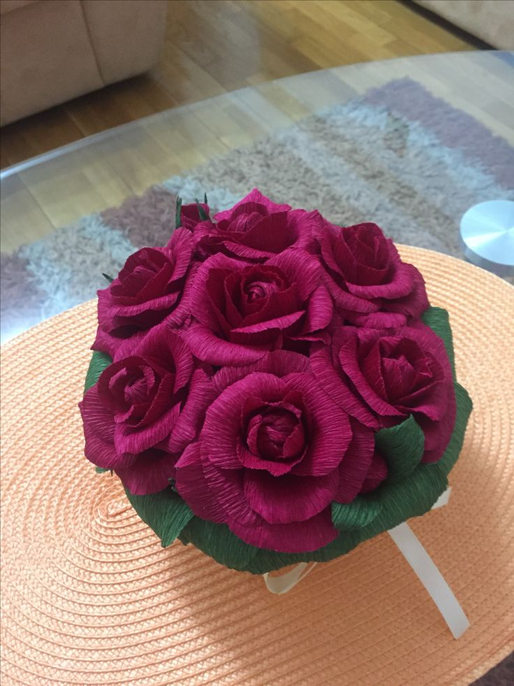 #handmade bouquet #handmade roses #decoration #present
