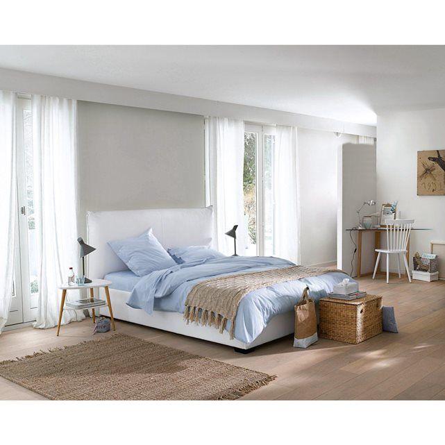 25 best ideas about lit 140x190 avec rangement on pinterest lit rangement - Lit avec tete de lit rangement 160 x 200 ...