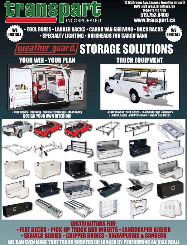 Transpart Incorporated Storage Solutions