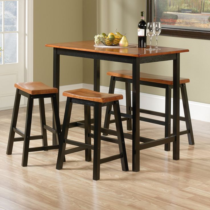 Sauder Woodworking Edge Water 4 Piece Counter Height Dinette Set | from hayneedle.com