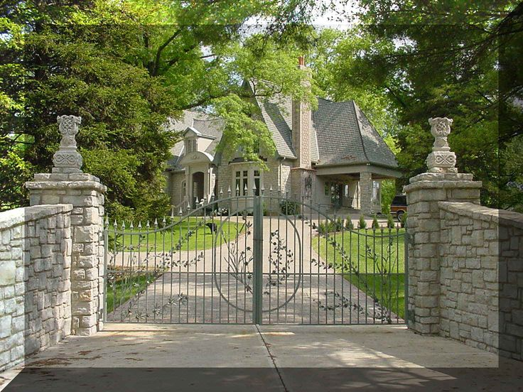 782 Best Images About Driveway And Entrance Gates On